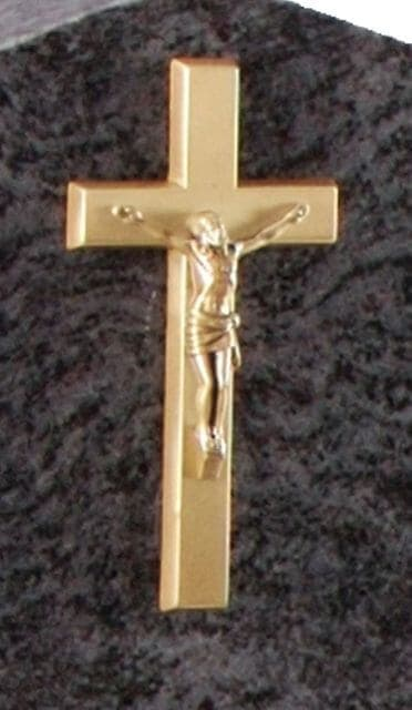Bronze crucifix Ornament 2411