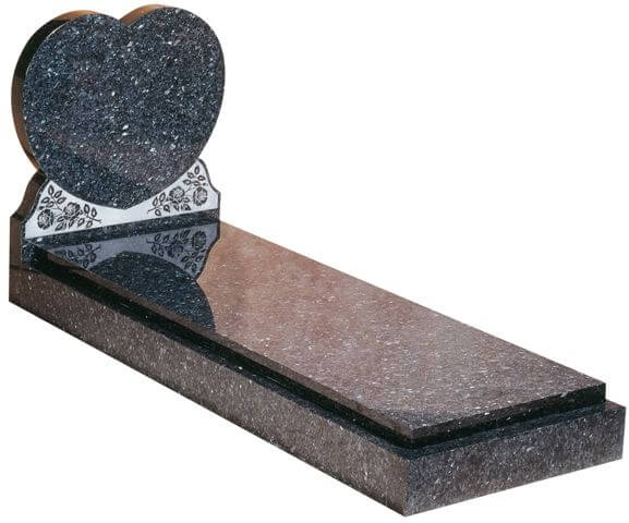 EC114 Heart and Full Grave Cover