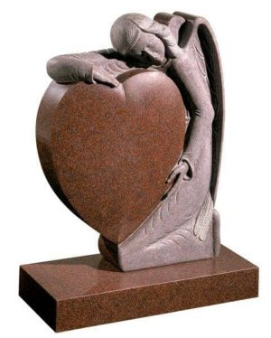 EC157 Heart and Angel Memorial