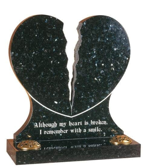EC158 Broken Heart Memorial