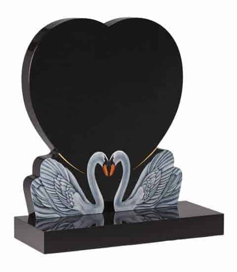 EC159 Swans Heart Memorial