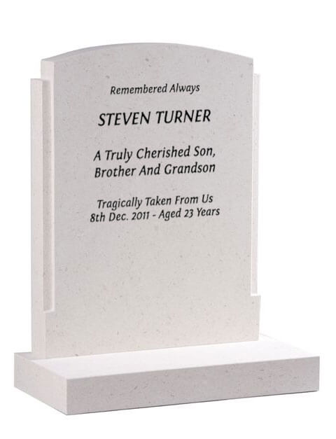 EC183 Classic Curved top Memorial