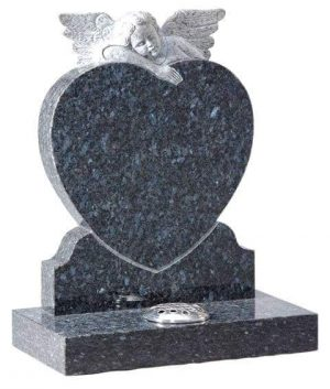 EC221 Angel and Heart Memorial