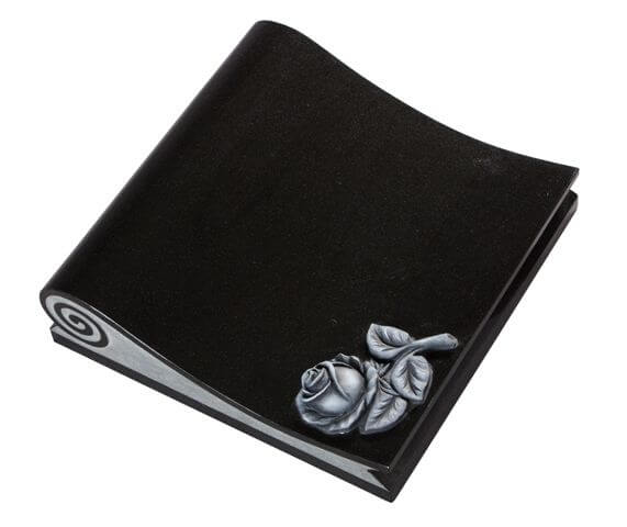 EC263 Scroll shaped Cremation Tablet