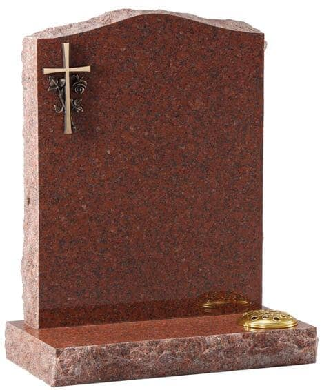 EC60 Cast Bronze Cross and Rose