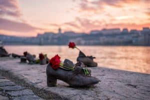 The shoes on Danube Bank Memorial